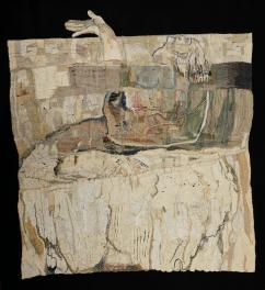 Penelope Dissembling in Frakutopia, 2015, tapestry jpeg